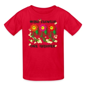 Many Flowers One Garden - Kids' T-Shirt
