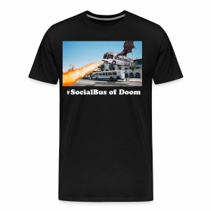 #SocialBus of Doom! - Men's Premium T-Shirt