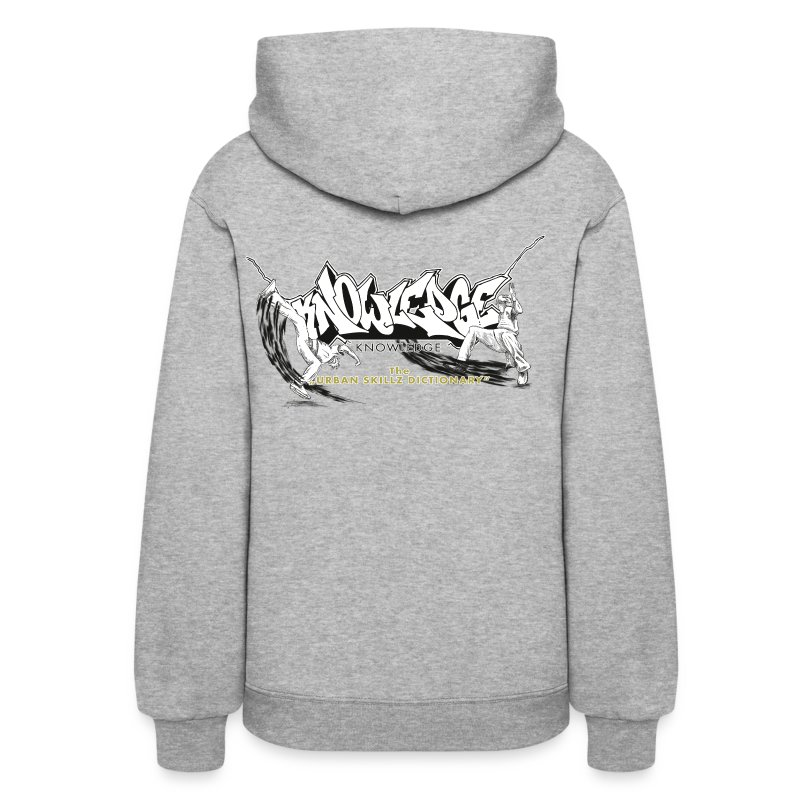Knowledge the urban skillz dictionary promo sh hoodies women s