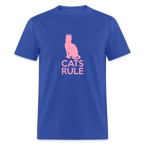 Cats Rule!! - Men's T-Shirt