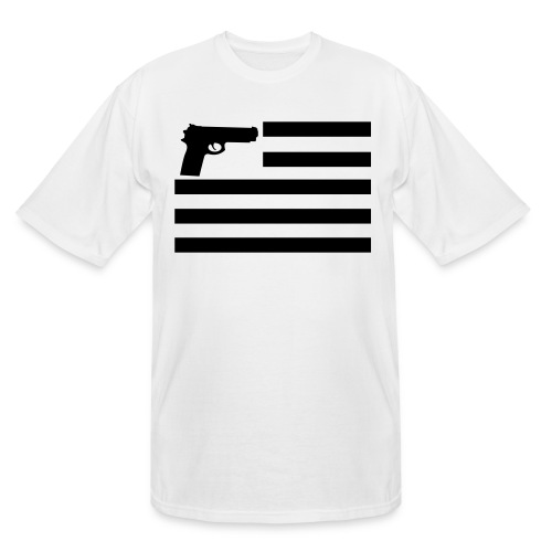 The United States of the 2nd Admendment - Men's Tall T-Shirt
