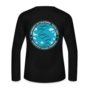 Santa Cruz Classic Remix Scientific Diving Women's Long Sleeve T-Shirt - Women's Long Sleeve Jersey T-Shirt