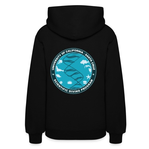 Santa Cruz Classic Remix Scientific Diving Women's Hoodie - Women's Hoodie