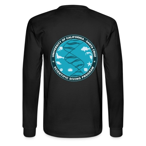Santa Cruz Classic Remix Scientific Diving Men's Long Sleeve T-Shirt - Men's Long Sleeve T-Shirt
