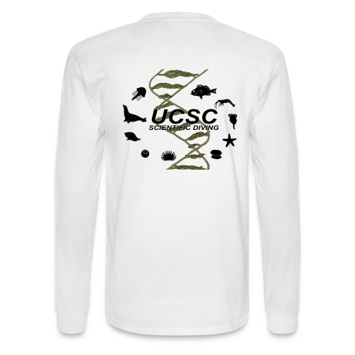 Santa Cruz Classic Scientific Diving Men's Long Sleeve T-Shirt - Men's Long Sleeve T-Shirt