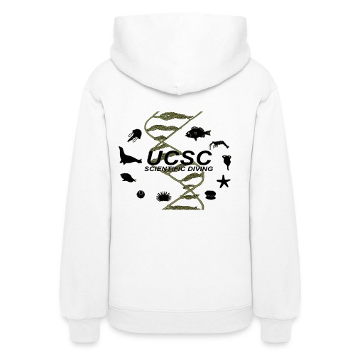 Santa Cruz Classic Scientific Diving Women's Hoodie - Women's Hoodie