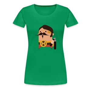 Senhor Mortadela - Women's Premium T-Shirt