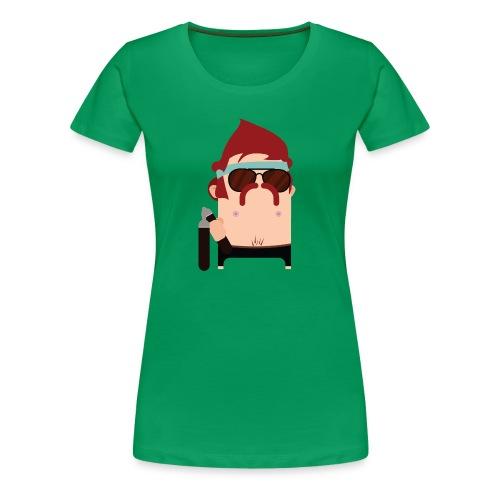 Nunchuck Charlie - Women's Premium T-Shirt