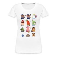 T-Shirts ~ Women's Premium T-Shirt ~ One Big Happy Family