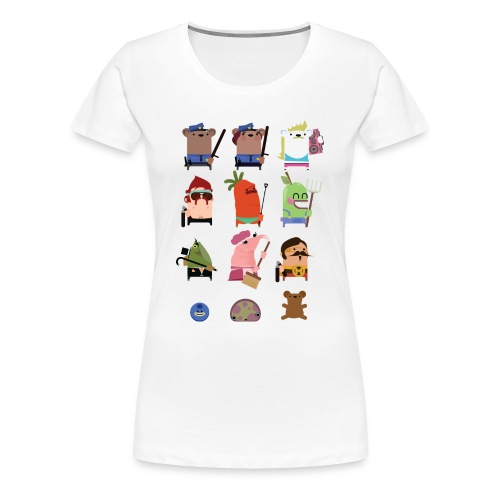 One Big Happy Family - Women's Premium T-Shirt