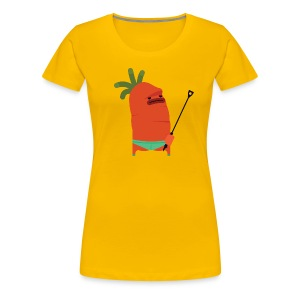 Kinky the Carrot - Women's Premium T-Shirt