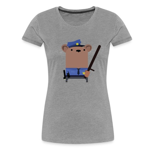 Mr.Security Bear - Women's Premium T-Shirt