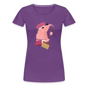 Penelope the Pretty Prawn - Women's Premium T-Shirt