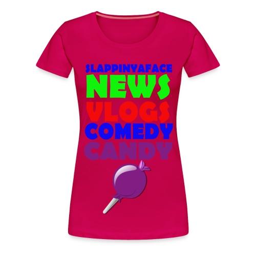 Fan Girl Candy Shirt - Women's Premium T-Shirt