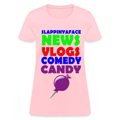 Fan Girl Candy Shirt #2 - Women's T-Shirt