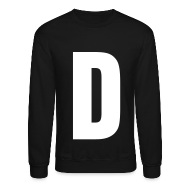 Long Sleeve Shirts ~ Men's Crewneck Sweatshirt ~ D Sweater