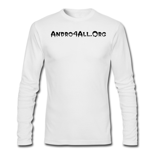 American Apparel Andro4All.Org - Men's Long Sleeve T-Shirt by Next Level