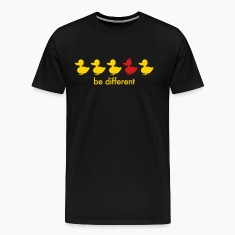 be different cute duck iroquoise ducklings T-Shirts