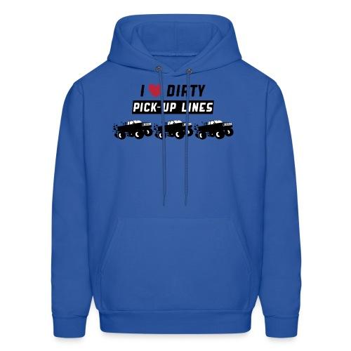 Dirty Pick Up Lines - Men's Hoodie