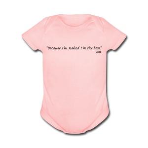 Baby BOSS - Short Sleeve Baby Bodysuit