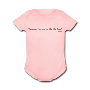 Baby BOSS - Short Sleeve Baby Bodysuit