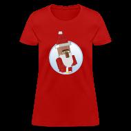 Women's T-Shirts ~ Women's T-Shirt ~ Santa-Villager - Womens