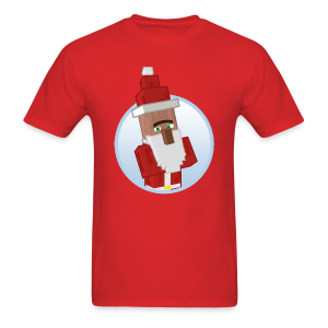 Santa-Villager - Mens - Men's T-Shirt