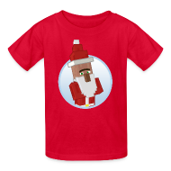 Kids' Shirts ~ Kids' T-Shirt ~ Santa-Villager - Kids