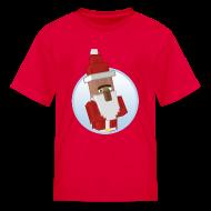 Kids' Shirts ~ Kids' T-Shirt ~ Santa-Villager - Kids