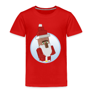 Baby & Toddler Shirts ~ Toddler Premium T-Shirt ~ Santa-Villager - Toddlers