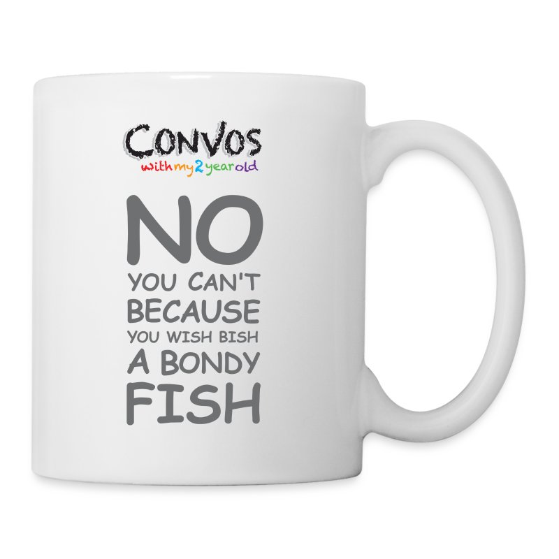 Bondy Fish m - Coffee/Tea Mug