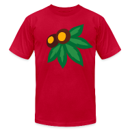 T-Shirts ~ Men's T-Shirt by American Apparel ~ LEAF AND NUTS