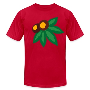 LEAF AND NUTS - Men's T-Shirt by American Apparel