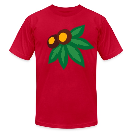 LEAF AND NUTS - Men's Fine Jersey T-Shirt