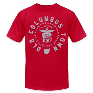 OLD COLUMBUS TOWN - Men's T-Shirt by American Apparel