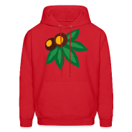 Hoodies ~ Men's Hooded Sweatshirt ~ LEAF AND NUTS - HOOD