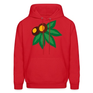LEAF AND NUTS - HOOD - Men's Hoodie