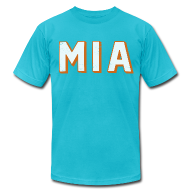 T-Shirts ~ Men's T-Shirt by American Apparel ~ MIA DOLPHIN