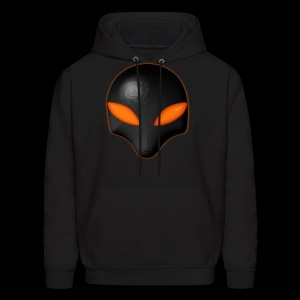 Alien Bug Face - Orange Eyes  - Men's Hoodie