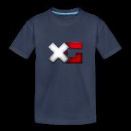 Kids' Shirts ~ Kids' Premium T-Shirt ~ Kid's Navy XerainGaming T-Shirt