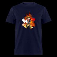 T-Shirts ~ Men's T-Shirt ~ Men's XerainGaming Fire Dan T-Shirt