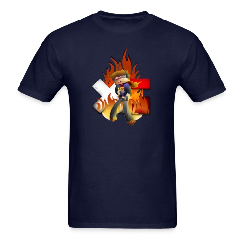 Men's XerainGaming Fire Dan T-Shirt - Men's T-Shirt