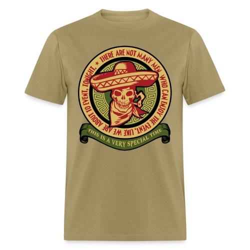 not many men - Men's T-Shirt