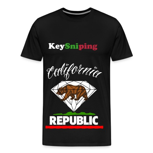 California kid ! - Men's Premium T-Shirt