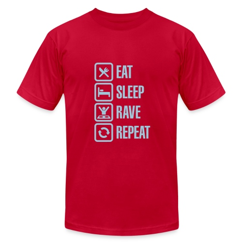 Eat,Sleep,Rave,Repeat T-Shirt - Men's  Jersey T-Shirt