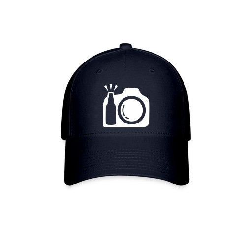 Blue Cap with White Logo - Baseball Cap