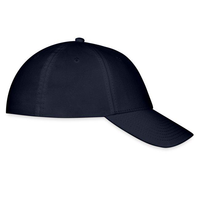Blue Cap with White Logo