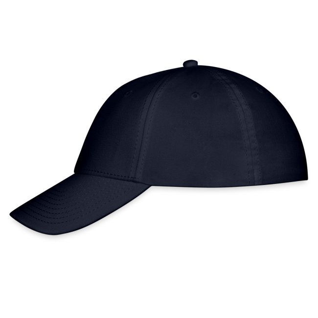 Blue Cap with White Logo