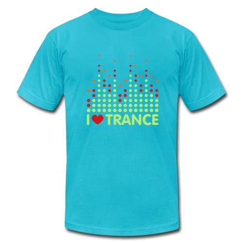 I Love Trance T Shirt - Men's  Jersey T-Shirt