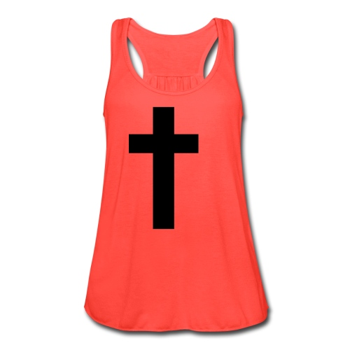 Cross Top (f) - Women's Flowy Tank Top by Bella